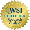 WSI Certified Research Specialist