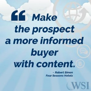 Make the Prospect a More Informed Buyer