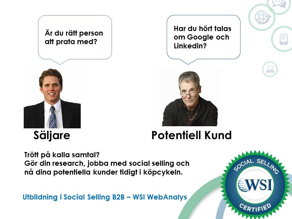 Social selling och potentiella kunder
