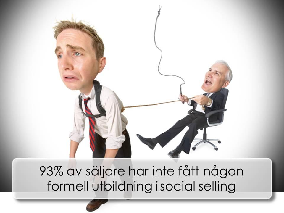 Säljare saknar utbildning i social selling