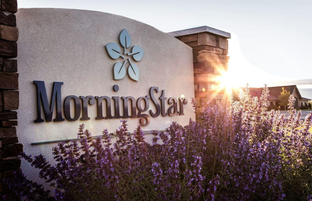 MorningStar Assisted Living signage
