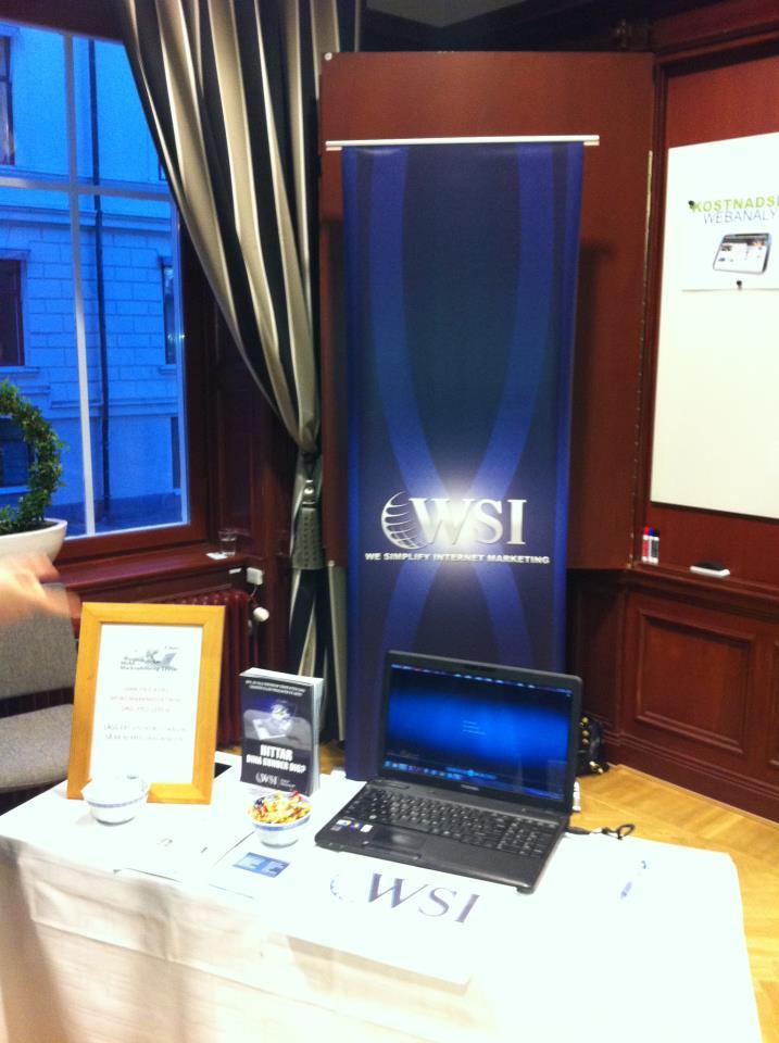 WSI WebAnalys Exhibition